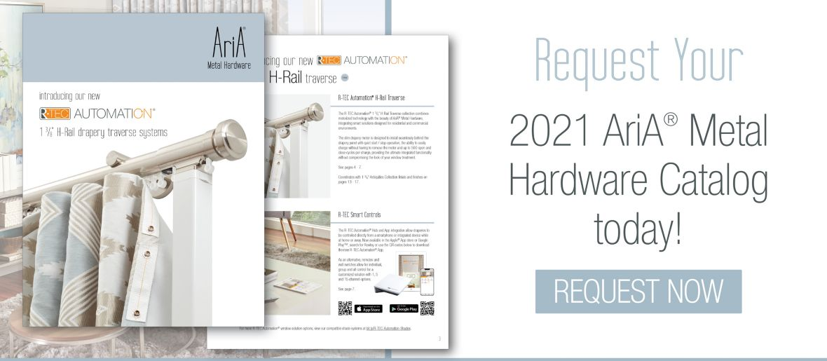 Request Your 2021 AriA Metal Hardware Catalog Today!
