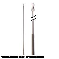 "Metal Baton with Plastic Attachment - 36"" /IC"