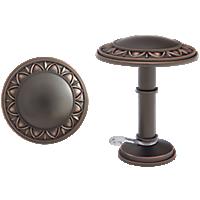 "1 3/8"" Bellaire Medallion Holdback /IC"