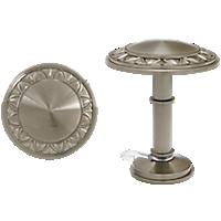 "1 3/8"" Bellaire Medallion Holdback /PN"
