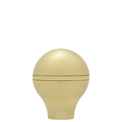 "1 1/8"" Tapered Ball Finial /SG/SG"