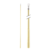 "Metal Baton with Plastic Attachment - 36"" /SG"