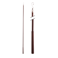 """Metal Baton with Steel Clip - 36"""" /ORB"""