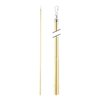 """Metal Baton with Steel Clip - 36"""" /SG"""