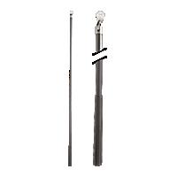"Metal Baton with Plastic Attachment - 48"" /BBN"