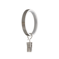 """1 1/8"""" Ring with Clip /BN"""