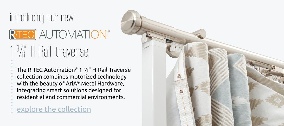 R-TEC Automation 1 3/8 H-Rail Traverse