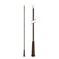 "36"" Baton with Plastic Attachment /OWD"