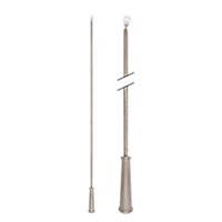 "36"" Baton with Plastic Attachment /RTA"