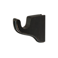 "1 3/8"" Flushmount Single Bracket, 3 1/2"" Return /WB"