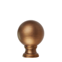 "1 3/8"" Ball Finial /AG"