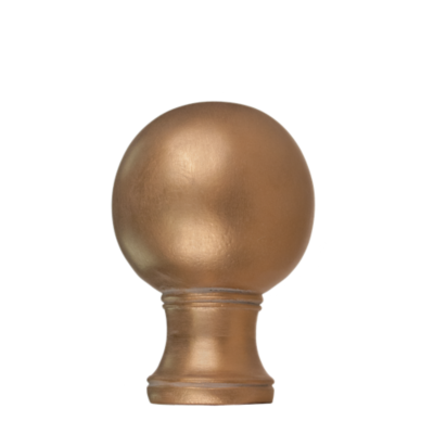 "2"" Plain Ball Finial /GLD"