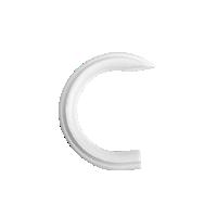 "2"" ""C"" Ring /WH"