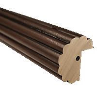 "2"" Fluted Fascia 4' Baton Draw /OWD"