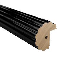 "2"" Fluted Fascia 4' Baton Draw /SK"