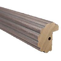 "2"" Fluted Fascia 4' Baton Draw /WEA"