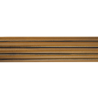 "1 3/8"" Reeded Pole 6 FT /PE"