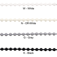 Continuous Plastic Bead Chain Loop