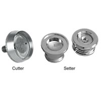 Cutting & Setting Die Sets for Crimp Button Form