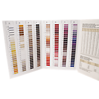 Gutermann 400-Color Thread Sample Card