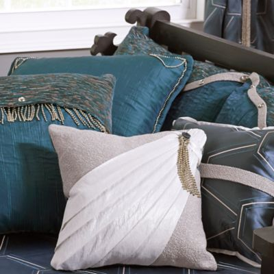 One-of-a-Kind Beaded Pillows