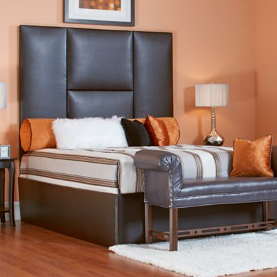 Pieced Headboard and Bed Surround