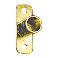 Inside Mount 3/8'' ID Bracket - Brass Plated