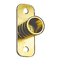 Inside Mount 3/8'' ID Bracket - Brass Plated