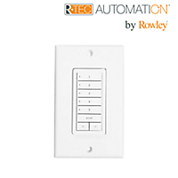 Surface Mount Wall Switch, 5 Channel