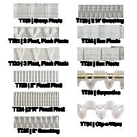 R-TEX Translucent Header Tapes
