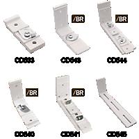 R-TRAC Cord Draw Brackets & Clips
