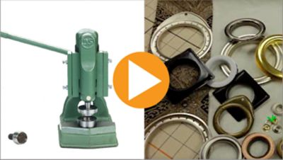 Introduction to the Grommet and Button Press