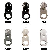 Reverse Zipper Slides