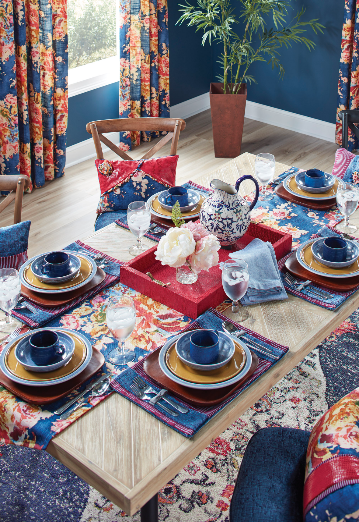 Gather Chic Dining   Grand Tablescape