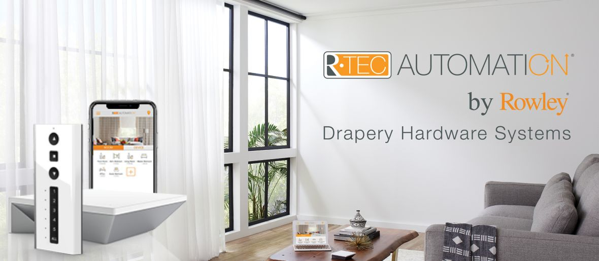 R-TEC Automation Drapery Hardware Systems