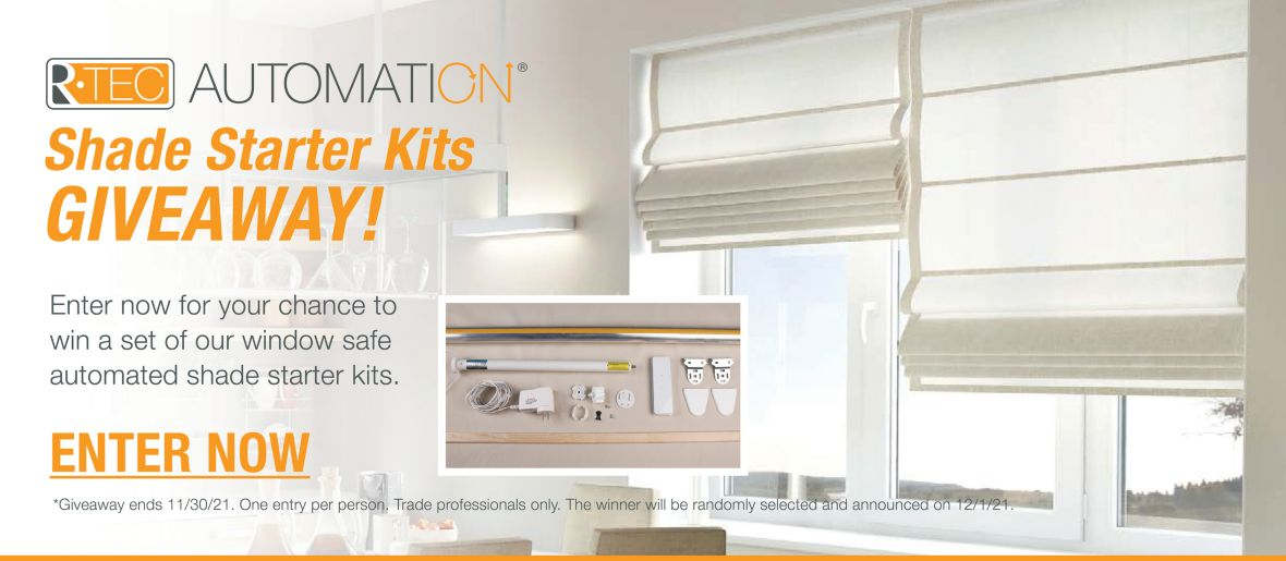 Enter Now for Shade Starter Kits Giveaway