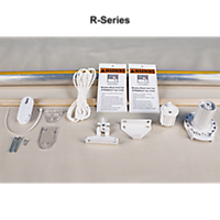 4' Sure-Shade R-Series Roller Clutch Soft Shade Starter Kits
