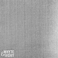 Whyte & Ivory, ERII Blackout Lining, Silver/White, By the Yard