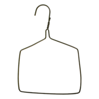 Wire Drapery Hanger, without tubes, 7'' Width